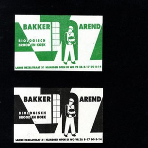 Flyer for an organic bakery.