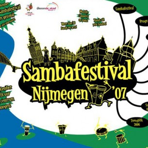 Identity, logo, websites and programme booklet for the 2007 Sambafestival Nijmegen