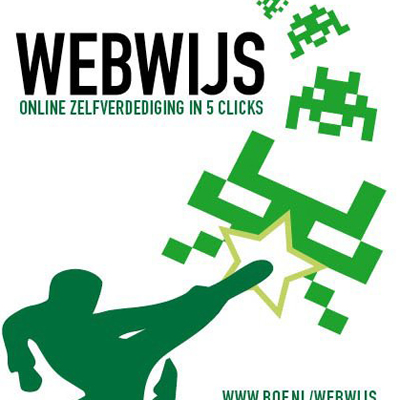 Bits of Freedom, a digital civil rights organization, mounts a campaign to help internet users protecting themselves from viruses, hackers and privacy violations. For this campaign called Webwijs (web-wise), I designed the identity, a poster and a folder with an online version found here.